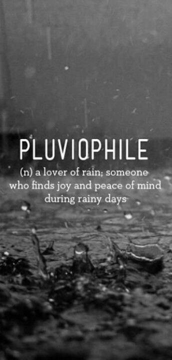I Love Love The Rain N A Lover Of Rain Someone Who Finds Joy And Peace Of Mind During Rainy Days