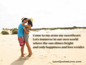 Come To My Arms My Sweetheart