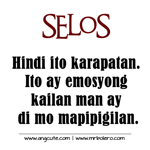 Selos Tagalog Quotes Mga Patama Quotes Tagalog Banat Quotes