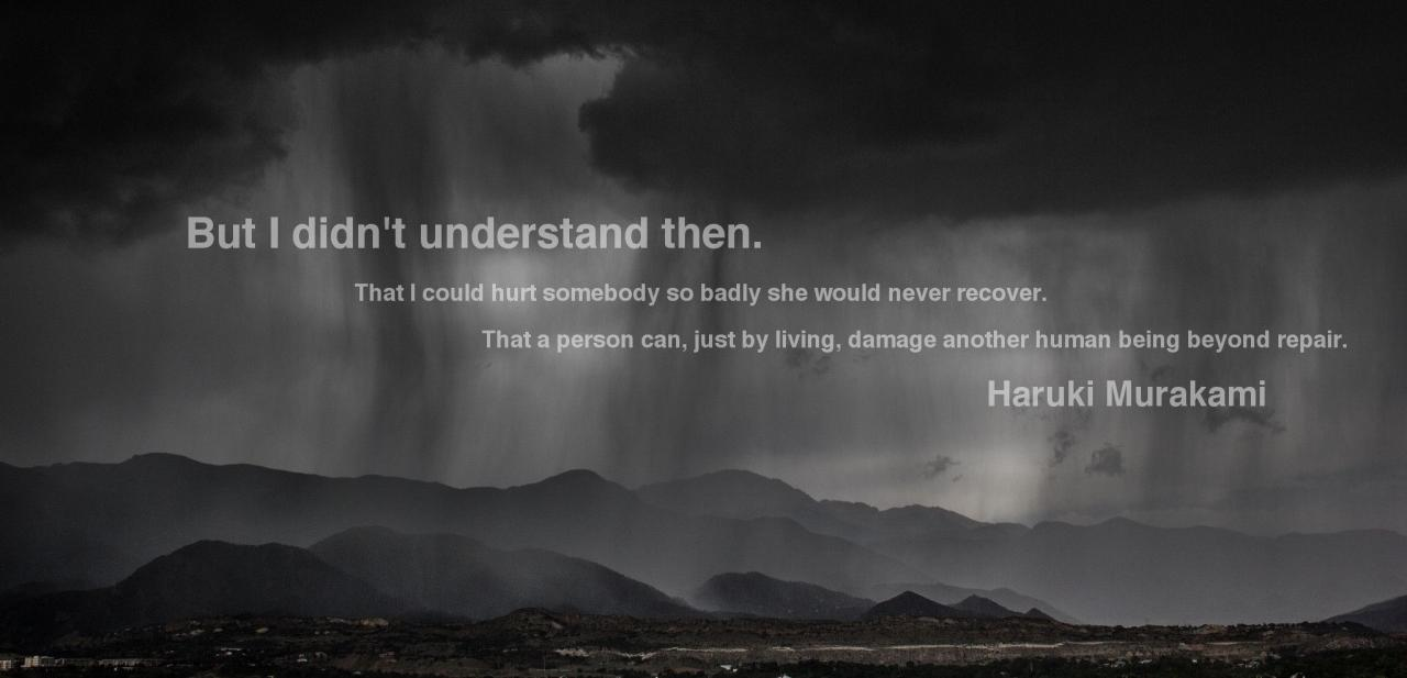 Posts About Quotes By Haruki Murakami Written By