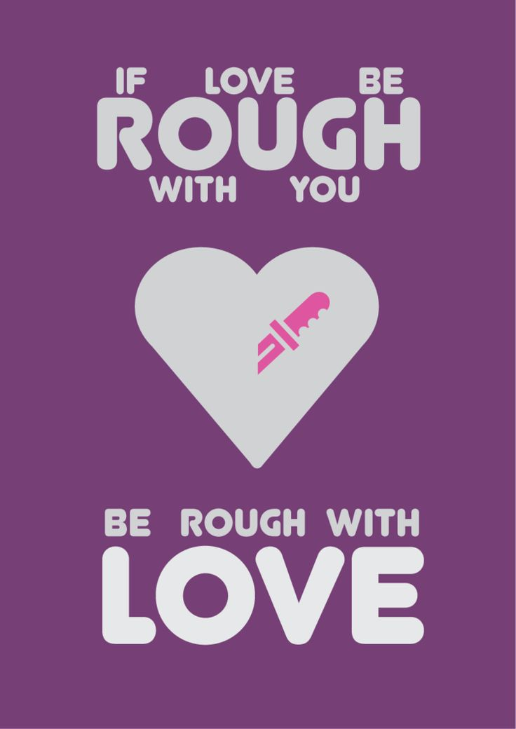 If Love Be Rough With You By Paramitepies