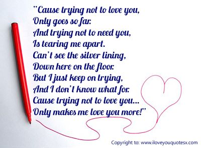 I Love You Quotes For Her To Impress Her