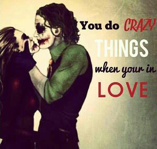 Joker Harley Quinn Crazy Love