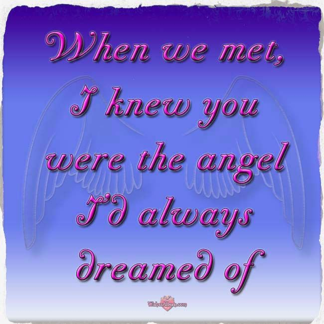 You Are My Angel Jpg X Love Messagesmessage Quotesmorning