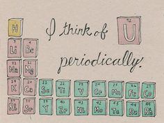 Periodic Table Greeting Card Science By Southernpestprints On Etsy