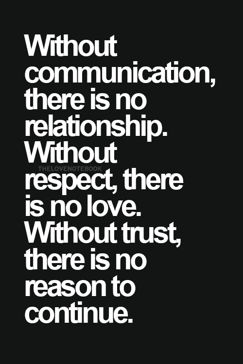 A Friendship Takes Communication Respect And Trust Awesome Quoteslove Quotesfunny