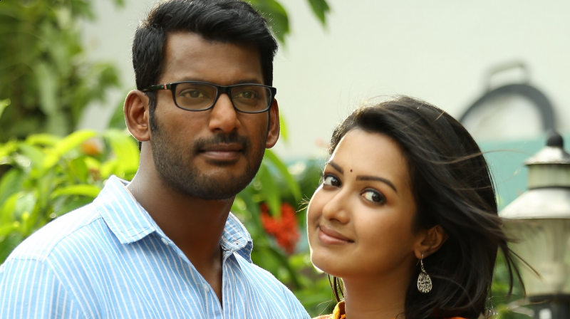 A Still From The Kathakali