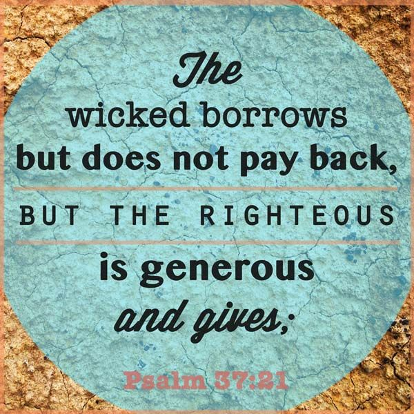 Money Bible Verse
