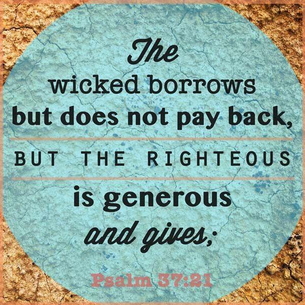 Money Bible Verse