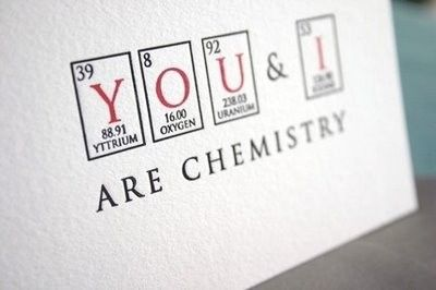 You And I Chemistry