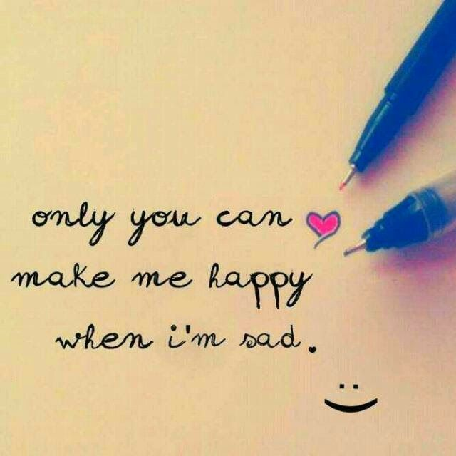 Only You Can Make Me Happy Whatsapp Dp Profile Picture Http Bit
