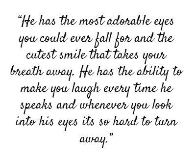 I Fell For Everything I See When I Look Into Your Eyes I Love You Quotesquotes For Himhis
