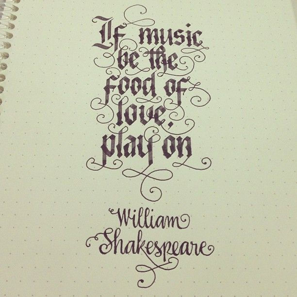 If Music Be The Food Of Love Play On Shakespeare