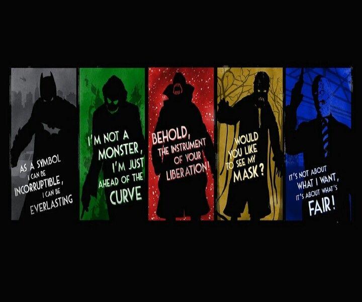 The Villans Of Batman