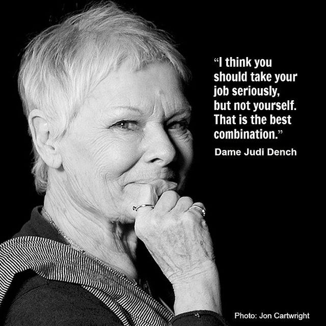 Dame Dench Actor Quotes