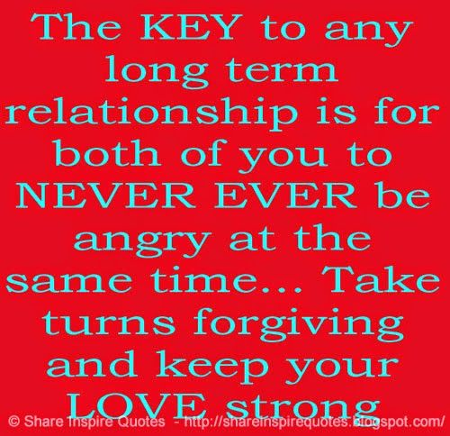 Love Quotes Key The Key To Any Long Term Relationship Love Quotes And