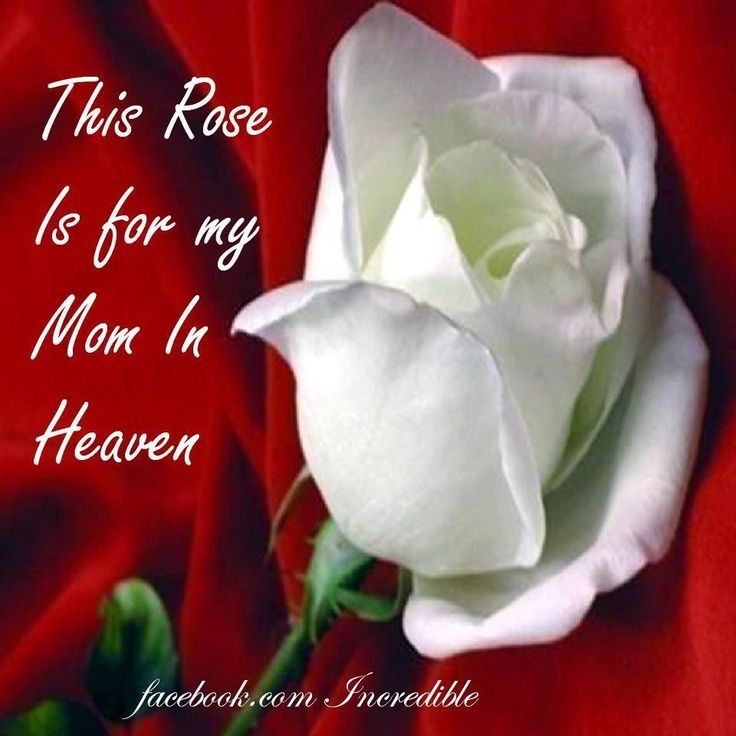 My Mom In Heaven Love Quotes Quote Miss You Sad Death Mom Family Quotes In