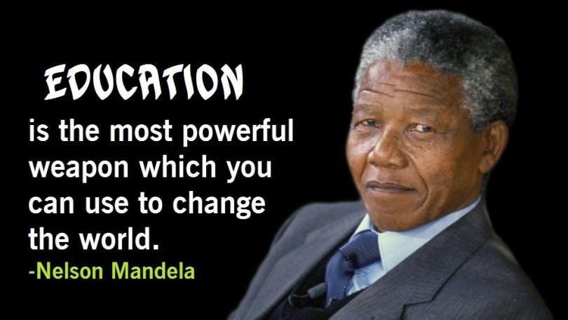Education Quotes Nelson Mandela