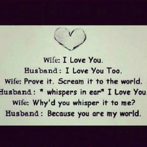 Quote Between Husband And A Wife