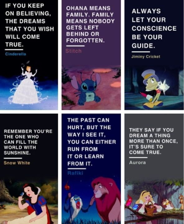 Lessons We Can Learn In Disney Movies