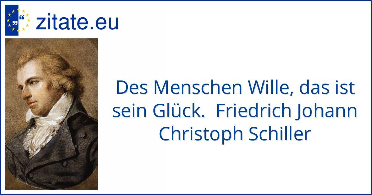 Zitat Von Friedrich Johann Christoph Schiller