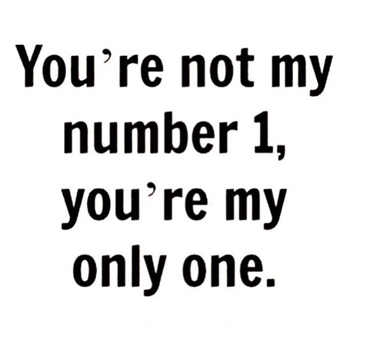 To Everyone Out There Dealing With Relationship Breakups And They Told U That U Were Number  C B I Love You Quotes For Himi