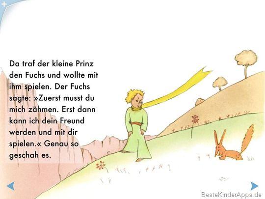 Der Kleine Prinz Kinderbuch App Ipad Android