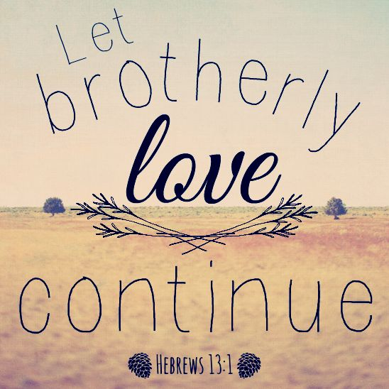 An Encouraging Bible Brotherly Love Quotesbrothers