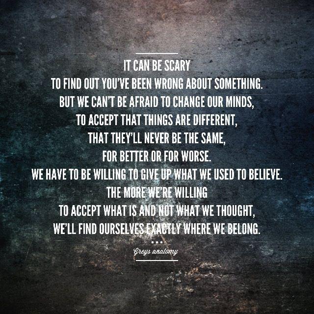 Greys Anatomy Quote