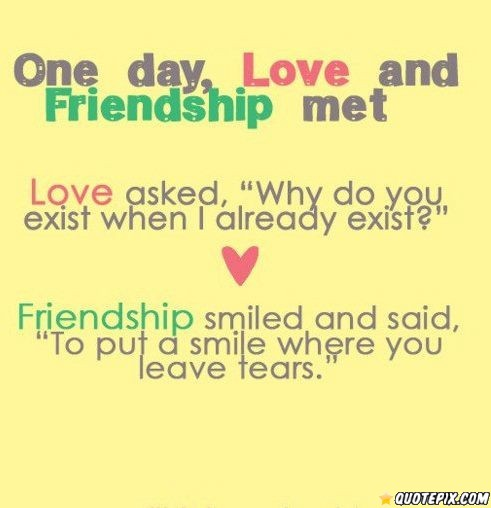 Friendship Day Quote Impress A Girl