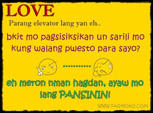 Funny Love Story Quotes Tagalog