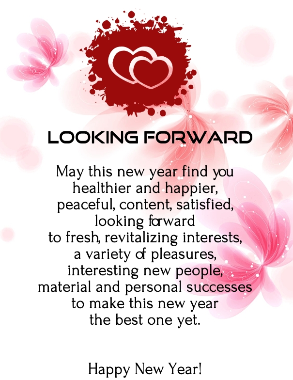Happy New Year  Love Poems With Images
