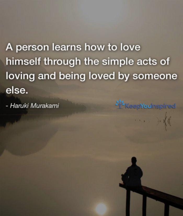 Haruki Murakamis Inspirational Love Quotes