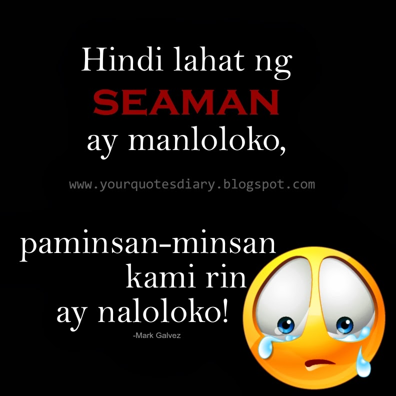 Hindi Lahat Ng Seaman Ay Manloloko