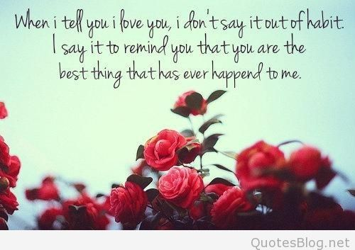 I Love You Baby Quotes For Himlove You