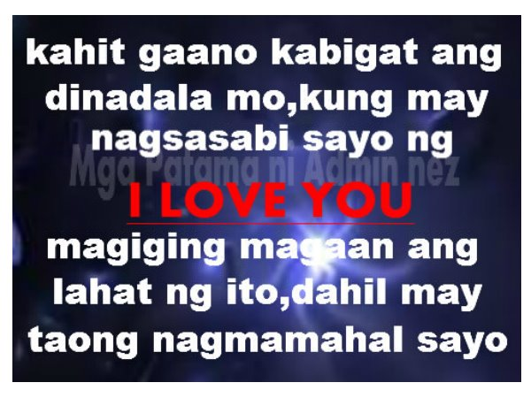 Love Quotes Tagalog Pleasing I Love You Quotes Tumblr Tagalog Dobre For