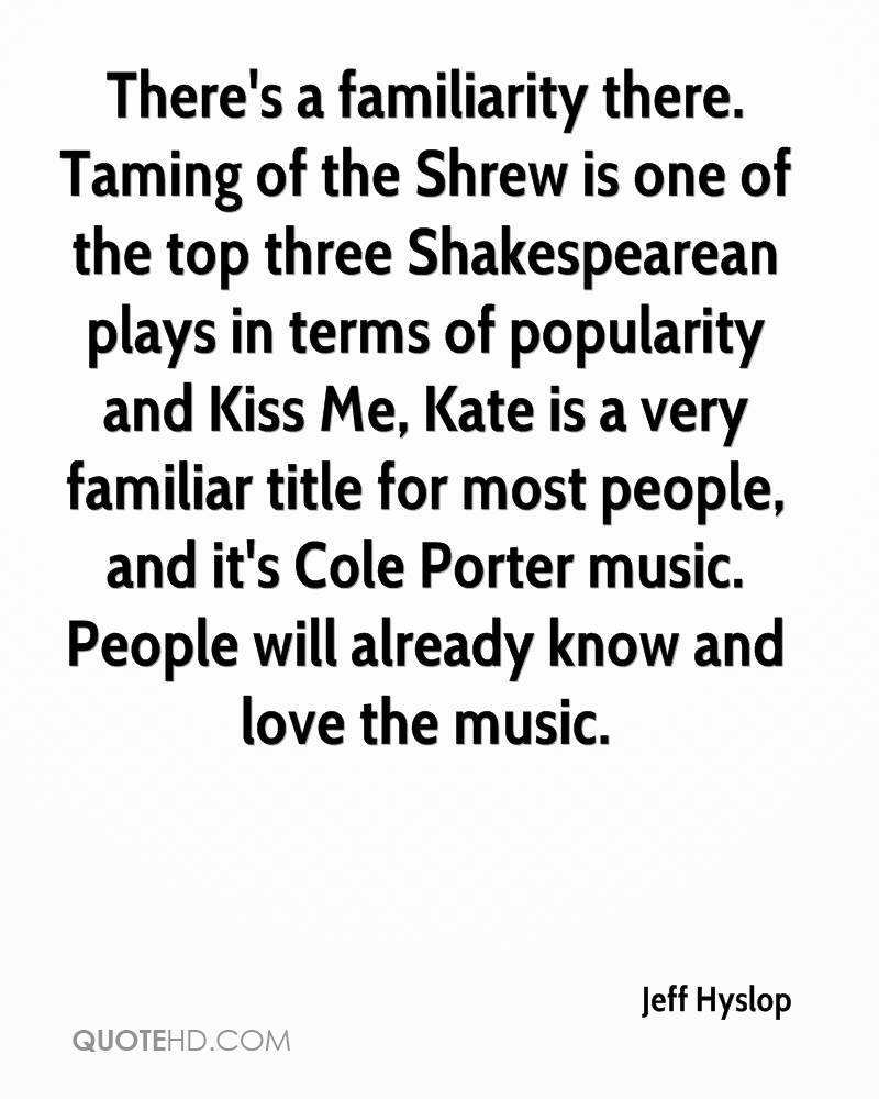 Taming Of The Shrew Is One Of The Top Three Shakespearean