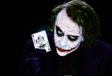 The Joker Heath Ledger From Dark Knight Movie