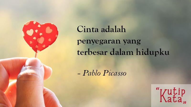 Kata Kata Cinta Romantis Pablo Pic O