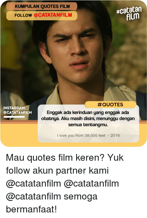 Love And Quotes Kumpulan Quotes Ncatatan Follow Catatanquotes