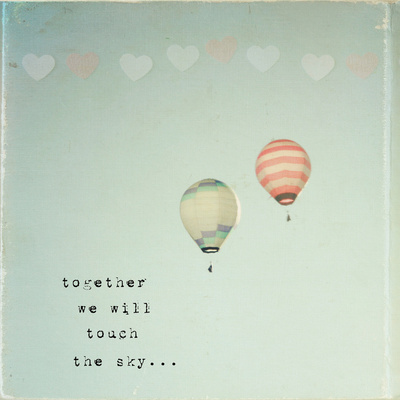 Sky Quote And Balloons Image