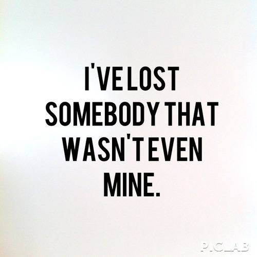 Lost Somebody And Love Image