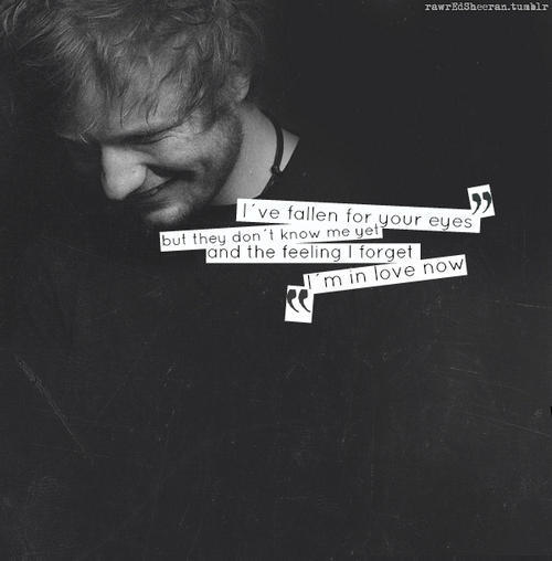 Ed Sheeran Lyrics And Kiss Me Image