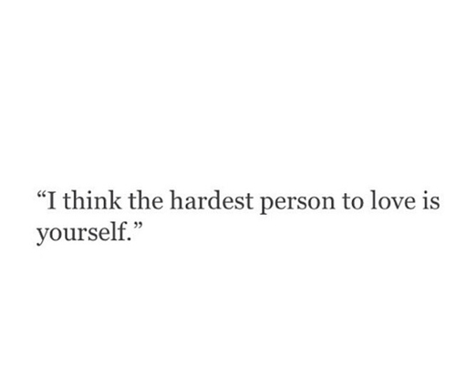 Love Quotes And Yourself Image