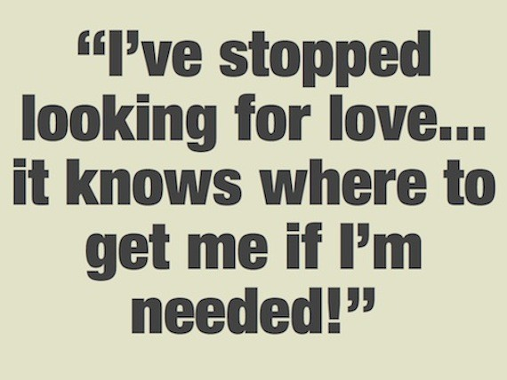 Looking For Love Quote  Picture Quote