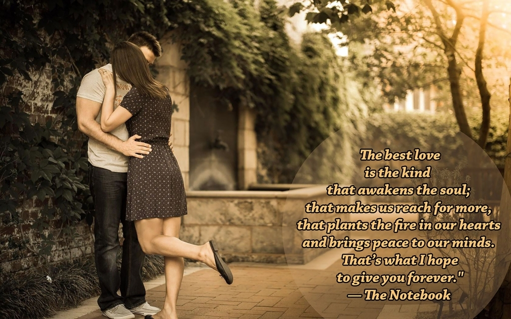 Love Couple Wallpaper With Quotes Best  Love Quotes Wallpaper Romantic Couple Images With Quotes