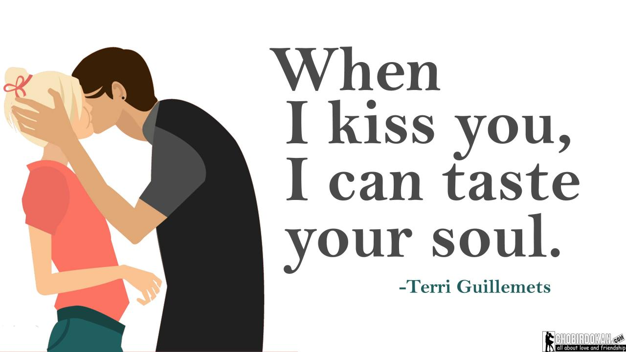 Love Kiss Images With Quotes