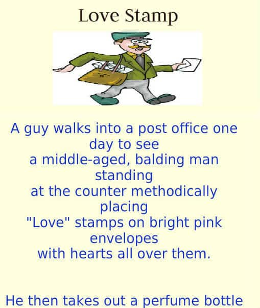 Love Stamps Funny Joke Of The Day Funny Jokes Jokes Of The Day