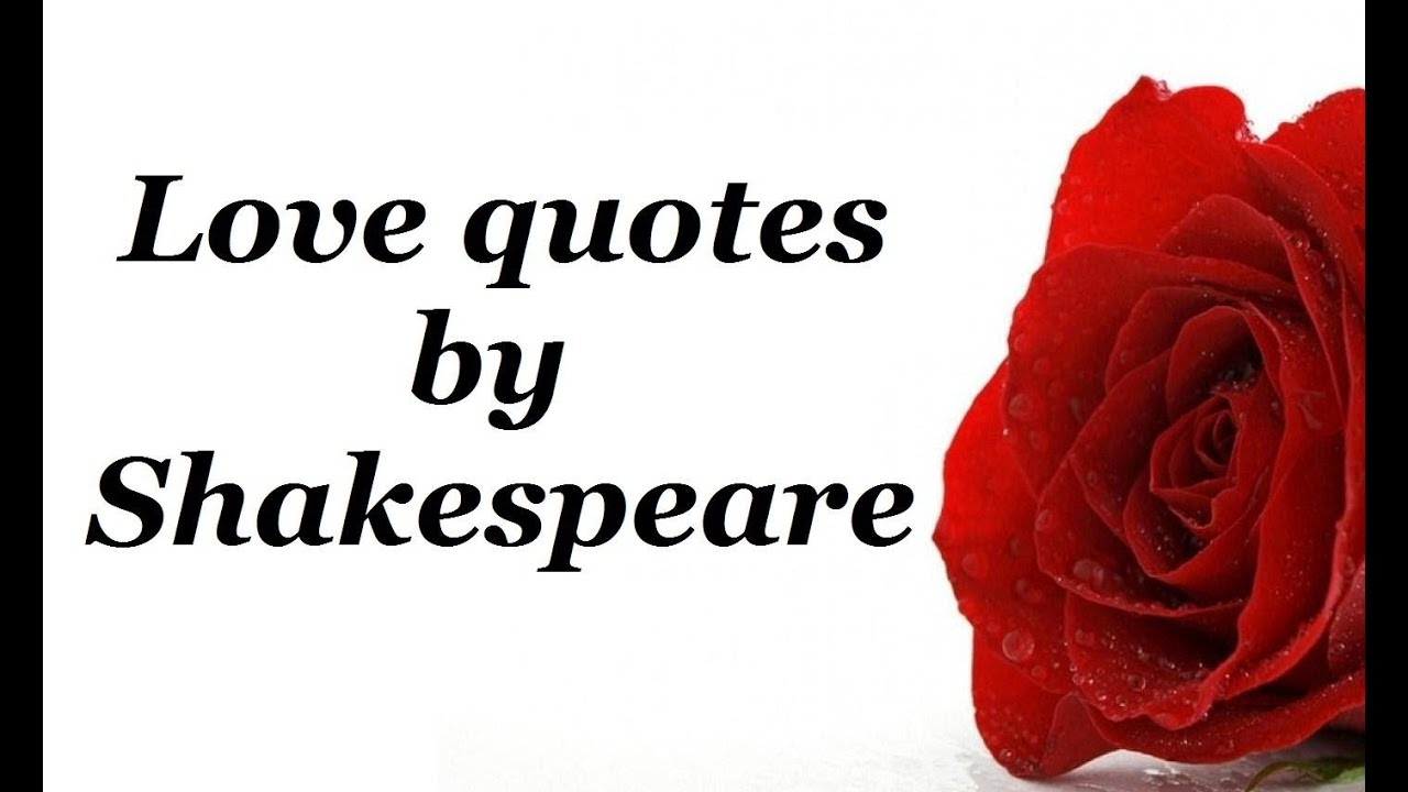 Love Quotes By Shakespeare_awesome Quotes Of Loveaffection_shakespeare Wisdomemotion