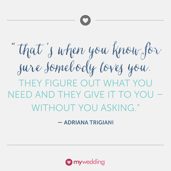 Adriana Trigiana Quote About Love